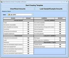 Sample Excel Balance Sheet 9 Balance Sheet Formats In Excel Excel Templates