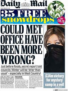 we all seen the daily mail front page today