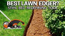 how to edge beds like a pro with this lawn edger stihl