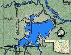 Sooner Lake Depth Chart Sooner Lake Fishing Guide 918 830 0007 Sooner Lake
