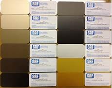 Wrisco Aluminum Color Chart Anodizing Color Choices Saf Southern Aluminum Finishing