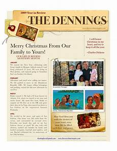 Holiday Family Newsletter Templates Download Free Software Christmas Newsletter Template Word