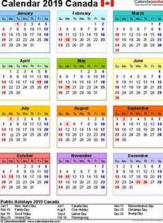 Dsny 2019 Chart Calendar Canada Calendar 2019 Free Word Calendar Templates