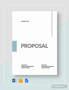 Free Sample Proposal Template 40 Free Proposal Templates Word Free Amp Premium Templates