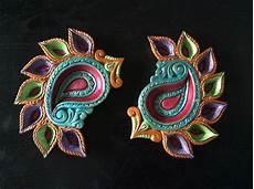 Designer Diyas Hand Painted Diya Diwali Diyas Pinterest Diwali