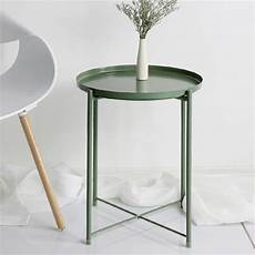 nordic style modern metal tray small tea table