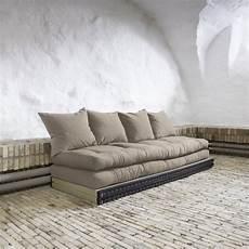 divano futon divano letto chico sofa karup con tatami e futon
