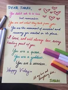 Love Letters Him Read The Beautiful Love Letters Sexual Assault Survivors