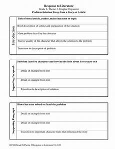 Problem And Solution Essay Examples Pin By Aubree Babin On Teaching Writing Essay Outline