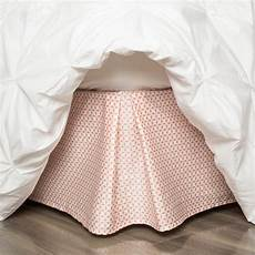 coral bed skirt coral morning bed skirt crane