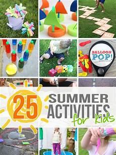 Babysitting Ideas For Summer 25 Outdoor Summer Activities For Kids