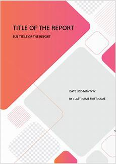 Title Page Template Word 2010 Cover Page Download Template For Ms Word Cover Page