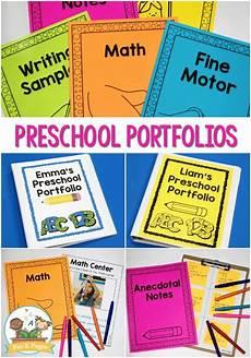 Portfolio For Pictures Preschool Portfolio Ideas Pre K Pages