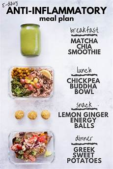 5 day anti inflammatory diet meal plan a sweet pea chef