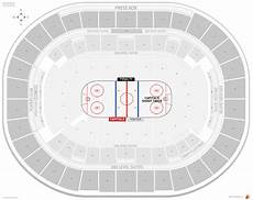 Washington Capitals Seating Chart With Rows Washington Capitals Seating Guide Capital One Arena