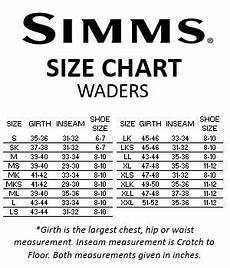 Simms Freestone Waders Size Chart Simms Freestone Breathable Stockingfoot Waders Dark
