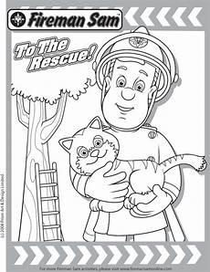 Malvorlagen Feuerwehrmann Sam Rescue Friends Dvd Fireman Sam Coloring Page