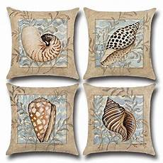 Sofa Pillows 18x18 Set Of 4 3d Image by Throw Pillow Cover 18x18 Quot Set Of 4 Qishop Linen Cotton B