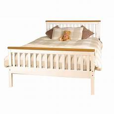 comfy living 4ft6 atlantis style wooden pine bed