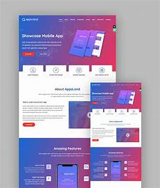 Video Landing Page Template 18 Best Responsive Html5 Landing Page Templates 2018
