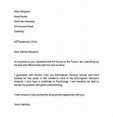 Cover Letters For Job Free 7 Sample Employment Cover Letter Templates In Pdf