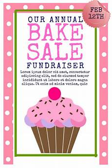 Bake Sale Template Word Copy Of Bake Sale Postermywall