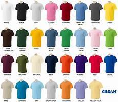 Gildan Shirt Color Chart Gildan Mens Ultra Cotton T Shirt Short Sleeve Unisex Tee S