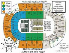 St Charles Family Arena Seating Chart With Seat Numbers Tobymac Hits Deep Tour