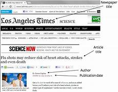 Website Article Citation How To Cite A Newspaper In Apa Easybib Blog