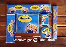 ataro designs desain tas paperbag ulang tahun anak tema