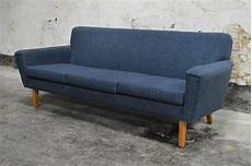 Blue Mid Century Modern Sofa 3d Image by Swedish Mid Century Modern Blue Sofa At 1stdibs