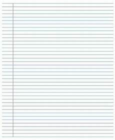 College Ruled Paper Template 13 Best College Ruled Riting Paper Templates Images On