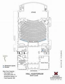Door County Auditorium Seating Chart Visit Us Performing Arts Series Cca Miami University