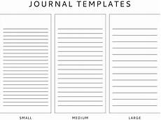 Journal Templates Journal Template Freebie The Seeing The U S Of A For