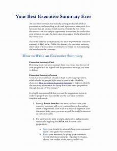 executive summary of books executive summary