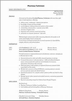 Pharmacy Resume Sample Resume For Pharmacy Technician Sample Resumes