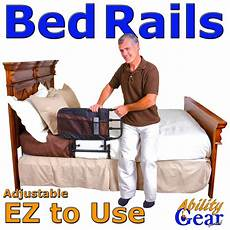 ability gear for less deluxe ez adjustable bed rail