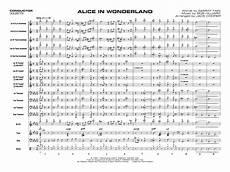 Alice In Wonderland Jazz Chart Alice In Wonderland Arr Jack Cooper J W Pepper Sheet Music