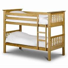 buy premier traditional shaker style pine finish bunk bed