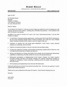 Cover Letter Template For Teacher Professional Teacher Cover Letter Cover Letter For