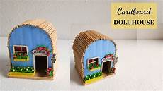diy dollhouse made out of cardboard easy handmade home