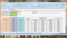 Salary Excel Sheet Format 5 Salary Increment Excel Sheet Format Simple Salary Slip