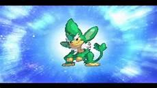 Shellos Evolution Chart Pokemon Conquest English Pansage Evolve To Simisage Youtube
