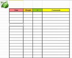 Weight Loss Record Sheet Pin On Exercise Level Up