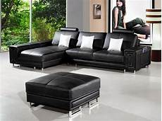 2265c modern leather sectional sofa