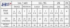 Cape Size Chart Hat Sizing Chart How To Find Your Hat Size Hats Unlimited