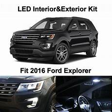 2016 Explorer Fog Lights 13x White Led Interior Bulbs Fog Reverse Tag Lights For