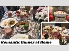 Romantic Dinner at Home Special Indian Dinner Recipes