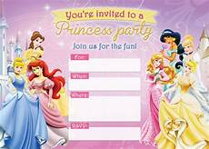 Disney Birthday Party Invitations Free Printable Disney Princess Birthday Invitations D Is