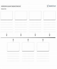 Horizontal Timeline Template 32 Timeline Templates In Pdf